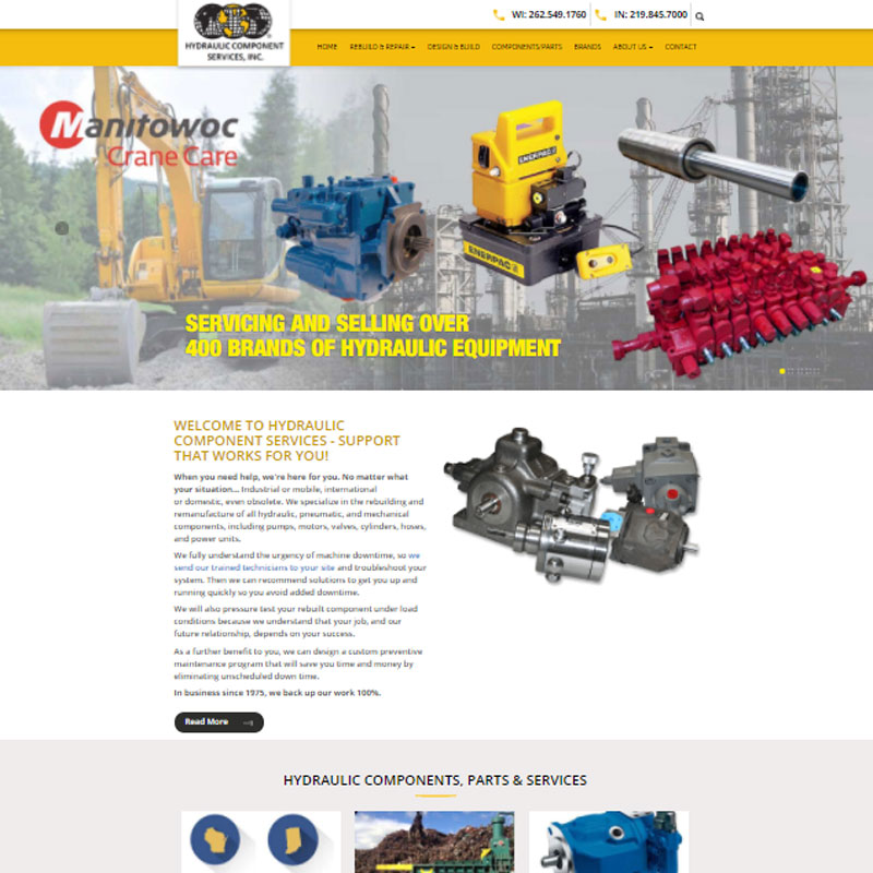 Hydraulic Component Services